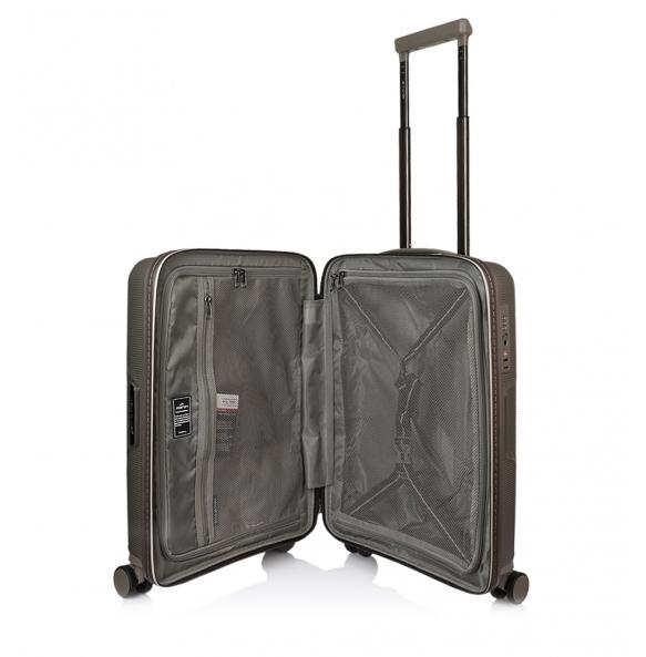 Βαλίτσα καμπίνας σκληρή MARCH BELAIR/50 Ασημί