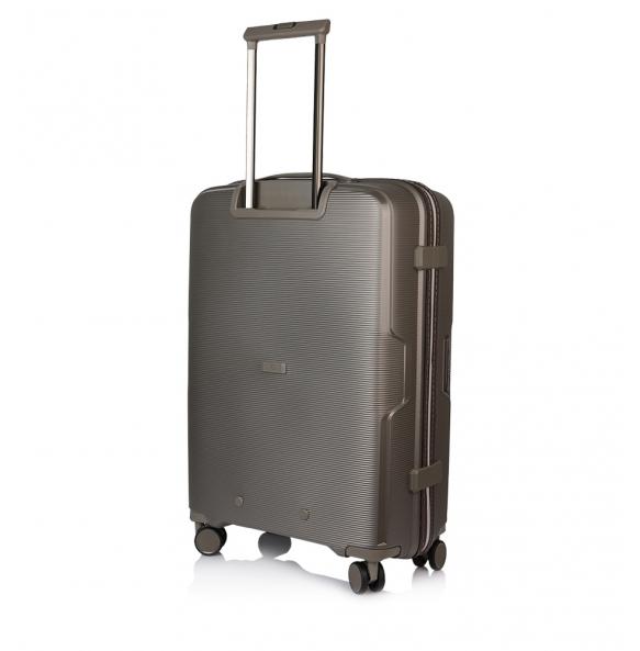 Βαλίτσα σκληρή MARCH BELAIR/60 Μεσαία Ασημί