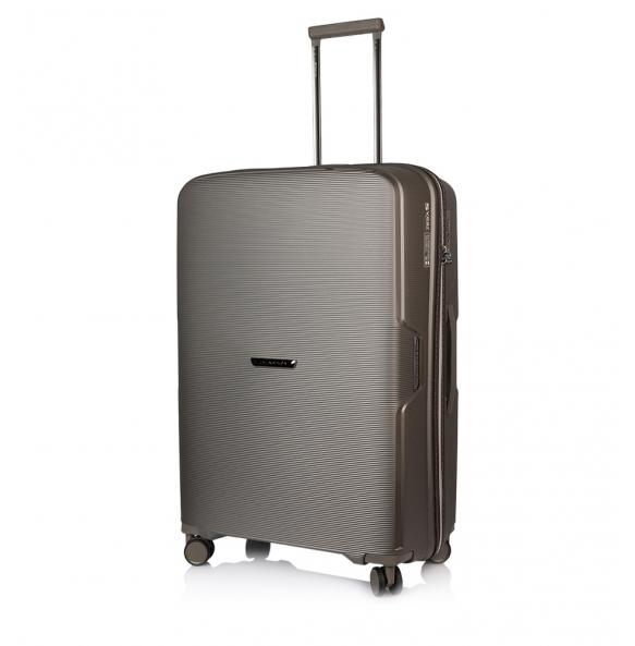 Βαλίτσα σκληρή MARCH BELAIR/70 Μεγάλη Ασημί