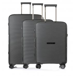 Σετ 3 βαλίτσες MARCH BELAIR Μαύρο