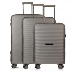 Σετ 3 βαλίτσες MARCH BELAIR Ασημί