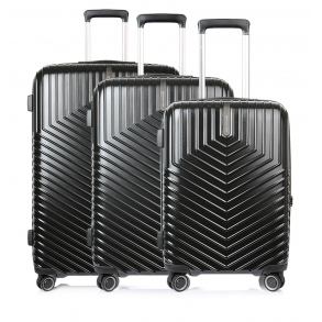Σετ 3 βαλίτσες MARCH LOTUS Μαύρο