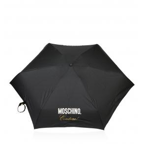 Ομπρέλα MOSCHINO 8014 Μαύρο Χειροκίνητη