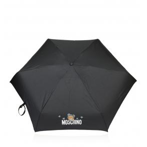 Ομπρέλα MOSCHINO 8042 Μαύρο Χειροκίνητη