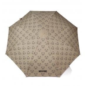 Ομπρέλα MOSCHINO 8043 Μπεζ Αυτόματη