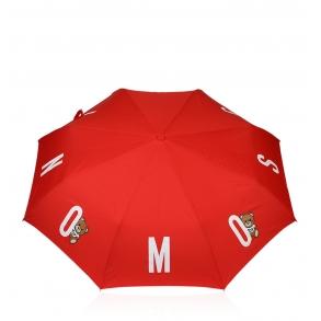 Ομπρέλα MOSCHINO 8068 Openclose Κόκκινο Αυτόματη