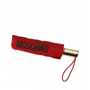 Ομπρέλα MOSCHINO 8730 Openclose Κόκκινο Αυτόματη