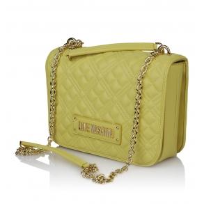 Τσάντα LOVE MOSCHINO 4000 Καπιτονέ Κίτρινο