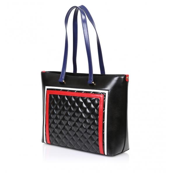 Τσάντα LOVE MOSCHINO 4013 Καπιτονέ Μαύρο