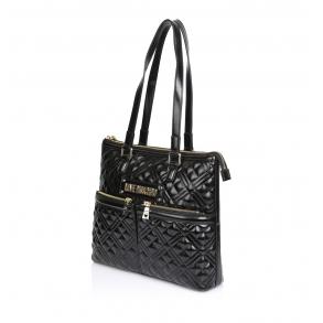 Τσάντα LOVE MOSCHINO 4013 Μαύρο Καπιτονέ