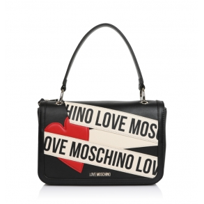 Τσάντα LOVE MOSCHINO 4028 Μαύρο