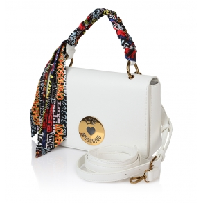 Τσάντα LOVE MOSCHINO 4044 Λευκό