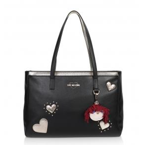 Τσάντα Love Moschino 4055 Μαύρο