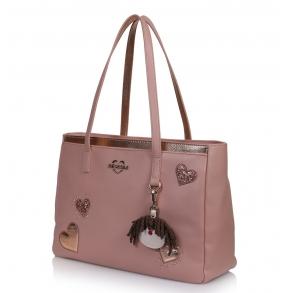 Τσάντα Love Moschino 4055 Ροζ