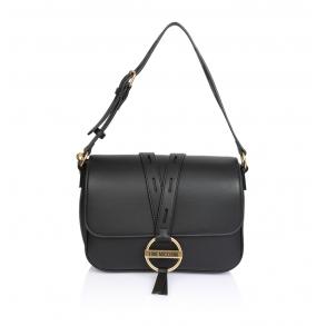 Τσάντα LOVE MOSCHINO 4078 Μαύρο