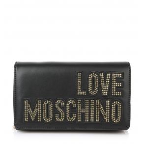 Τσάντα LOVE MOSCHINO 4091 Μαύρο με Χρυσό