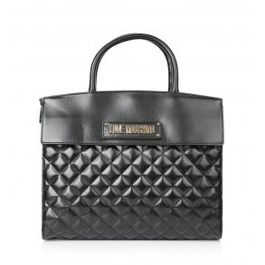 Τσάντα LOVE MOSCHINO 4204 Καπιτονέ Μαύρο