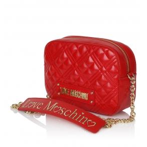 Τσάντα LOVE MOSCHINO 4208 Κόκκινο