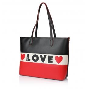 Τσάντα LOVE MOSCHINO 4228 Μαύρο