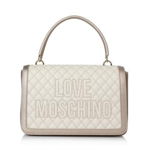 Τσάντα LOVE MOSCHINO 4279 Καπιτονέ Χρυσό/Εκρού