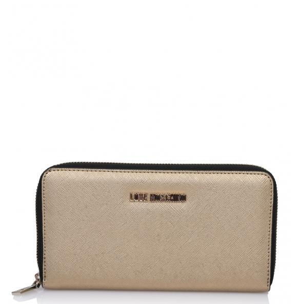 Πορτοφόλι Love Moschino 5552 Χρυσό