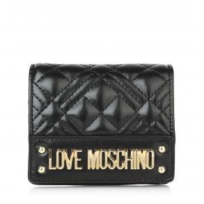 Πορτοφόλι LOVE MOSCHINO 5621 Μαύρο Καπιτονέ