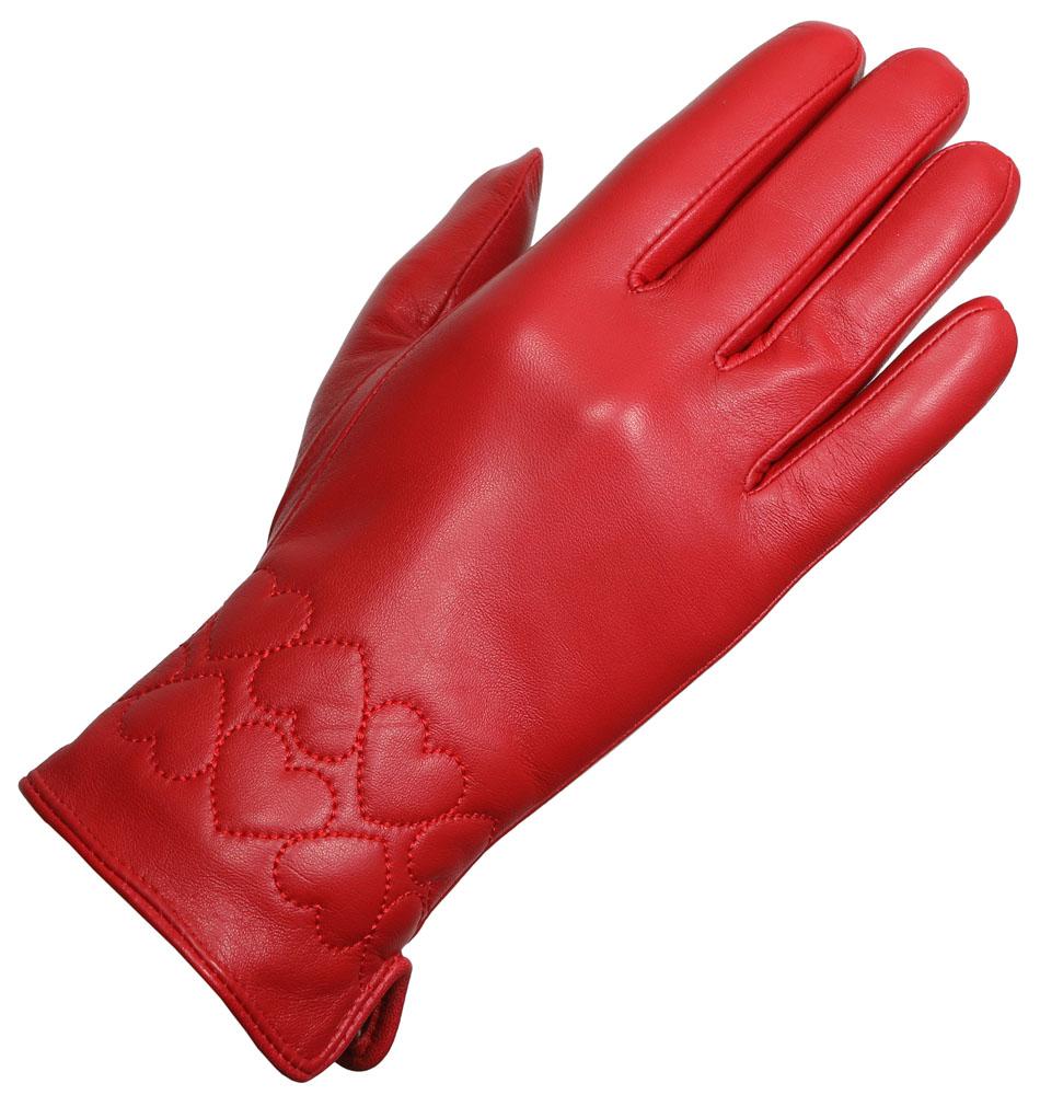 e1bee0aa48 δερμάτινα γάντια ESTET B05 Κόκκινο