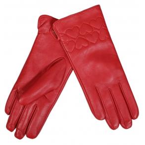 δερμάτινα γάντια ESTET B05 Κόκκινο