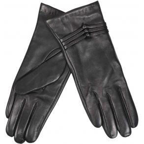 δερμάτινα γάντια ESTET B08 Μαύρο