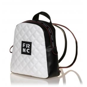 Σακίδιο FRNC 1202K Λευκό Καπιτονέ