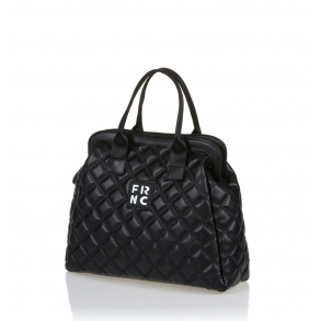 Τσάντα FRNC 12105 Μαύρο Καπιτονέ