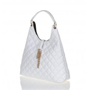 Τσάντα FRNC 12108 Λευκό Καπιτονέ