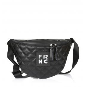 Τσαντάκι μέσης FRNC 1274 Μαύρο Καπιτονέ