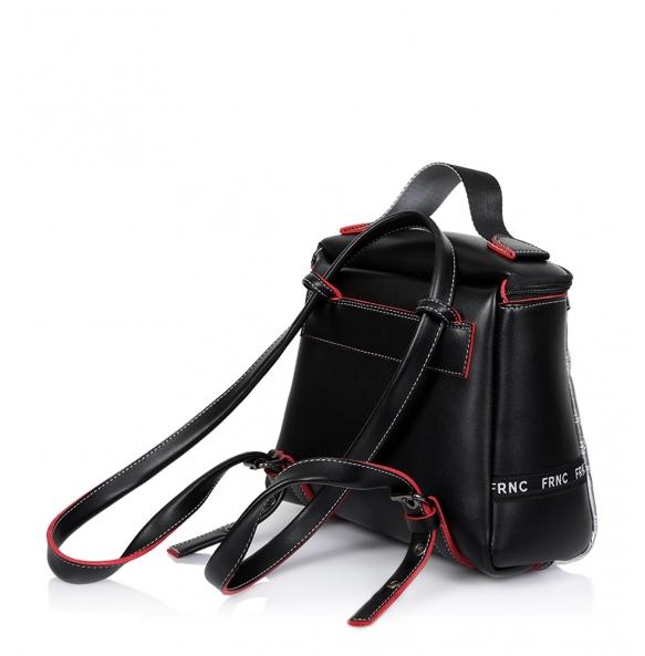 Τσάντα FRNC 1290 Καπιτονέ Ασημί