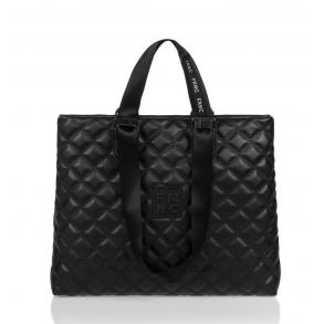 Τσάντα FRNC 1295 Μαύρο Καπιτονέ