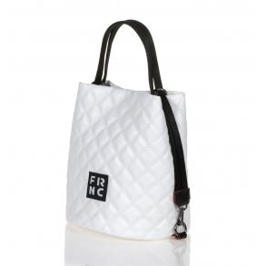 Τσάντα FRNC 1299 Λευκό Καπιτονέ