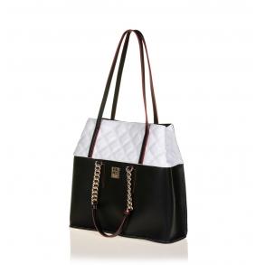 Τσάντα FRNC 1909 Μαύρο/Λευκό