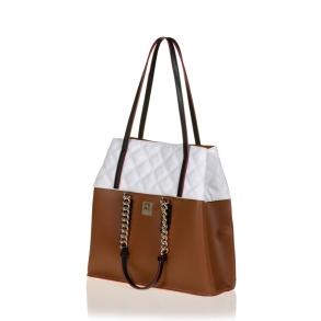 Τσάντα FRNC 1909 Ταμπά/Λευκό