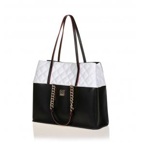 Τσάντα FRNC 1910 Μαύρο/Λευκό
