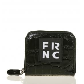 Πορτοφόλι FRNC WAL004 Μαύρο Κροκό