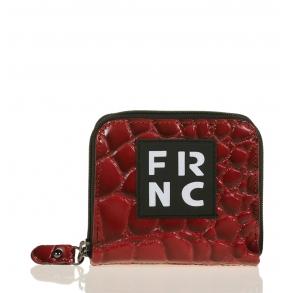 Πορτοφόλι FRNC WAL004 Κόκκινο Κροκό