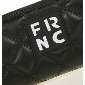 Πορτοφόλι FRNC WAL005 Μαύρο Καπιτονέ
