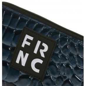 Πορτοφόλι FRNC WAL005 Μπλε Κροκό