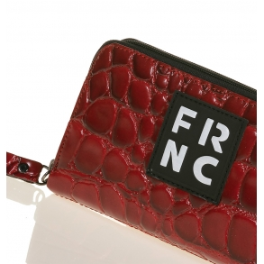 Πορτοφόλι FRNC WAL005 Κόκκινο Κροκό