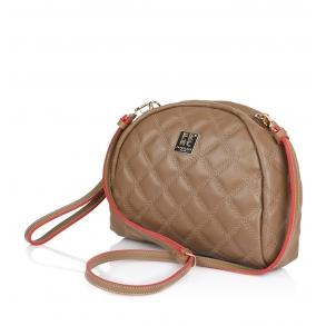 Τσάντα FRNC WAL043K Capuccino Καπιτονέ