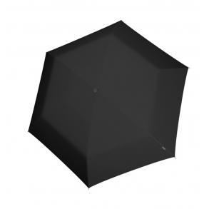 Ομπρέλα KNIRPS U.200 Ultra Light Duomatic Αυτόματη Σπαστή Μαύρο