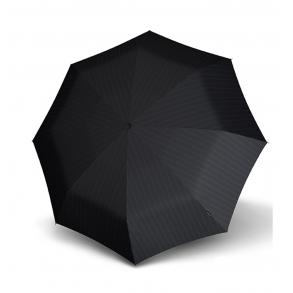 Ομπρέλα KNIRPS T.200 Duomatic Αυτόματη Σπαστή Μαύρο Ριγέ