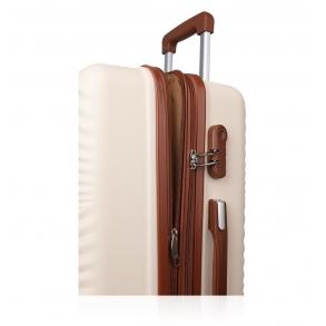 Βαλίτσα σκληρή RCM 19-015/60 Μεσαία Μπεζ
