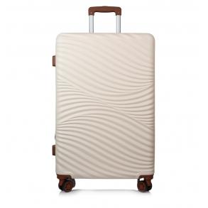 Βαλίτσα σκληρή RCM 19-015/70 Μεγάλη Μπεζ