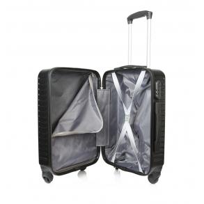 Βαλίτσα καμπίνας σκληρή RCM 8068/50 Μαύρο